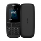 Nokia 105 Single Sim 2019 Black (16KIGB01A13)