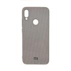 Чехол накладка Carbon для Xiaomi Redmi 7 Grey
