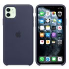 Чехол Soft Touch для Apple iPhone 11 Midnight Blue (Original)