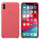 Чехол Leather Case 1:1 для iPhone Xs  Max Peony Pink