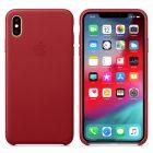 Чехол Leather Case 1:1 для iPhone Xs  Max Red