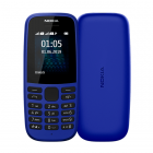 Nokia 105 Single Sim 2019 Blue (16KIGL01A13)