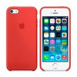 Чехол Soft Touch для Apple iPhone 5/5S Red