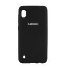 Чехол Original Soft Touch Case for Samsung A10-2019/A105 Black
