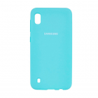 Чехол Original Soft Touch Case for Samsung A10-2019/A105 Blue