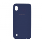 Чехол Original Soft Touch Case for Samsung A10-2019/A105 Navy Blue