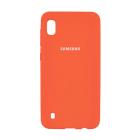 Чехол Original Soft Touch Case for Samsung A10-2019/A105 Orange