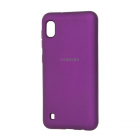 Чехол Original Soft Touch Case for Samsung A10-2019/A105 Purple