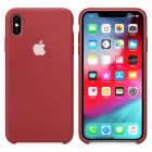 Чехол Soft Touch для Apple iPhone XS  Max Camellia Red
