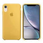 Чехол Soft Touch для Apple iPhone XR Yellow