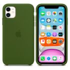 Чехол Soft Touch для Apple iPhone 11 Dark Olive