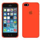 Чехол Soft Touch для Apple iPhone 5/5S New Apricot