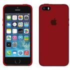Чехол Soft Touch для Apple iPhone 5/5S Camellia Red
