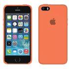 Чехол Soft Touch для Apple iPhone 5/5S Peach
