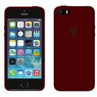 Чехол Soft Touch для Apple iPhone 5/5S Rose Red