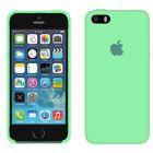 Чехол Soft Touch для Apple iPhone 5/5S Sea Blue