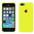 Чехол Soft Touch для Apple iPhone 5/5S Yellow