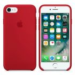 Чехол Soft Touch для Apple iPhone 8/SE 2020 China Red