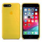 Чехол Soft Touch для Apple iPhone 8 Plus Canary Yellow