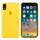 Чехол Soft Touch для Apple iPhone XR Canary Yellow
