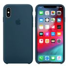 Чехол Soft Touch для Apple iPhone X Blue Cobalt (Original)