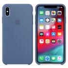Чехол Soft Touch для Apple iPhone XS Deep Blue