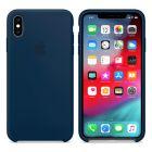 Чехол Soft Touch для Apple iPhone XS  Max Deep Lake Blue