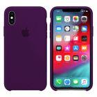 Чехол Soft Touch для Apple iPhone X/XS Deep Purple