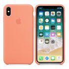 Чехол Soft Touch для Apple iPhone X Pink