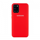 Чехол Original Soft Touch Case for Samsung A31-2020/A315 Red