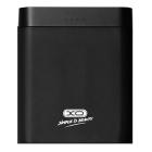 Внешний аккумулятор XO PB39 2USB 2A (10000mAh) Black